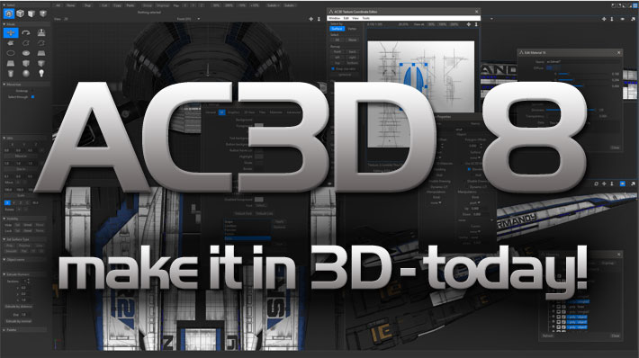 AC3D make it in 3D - today!